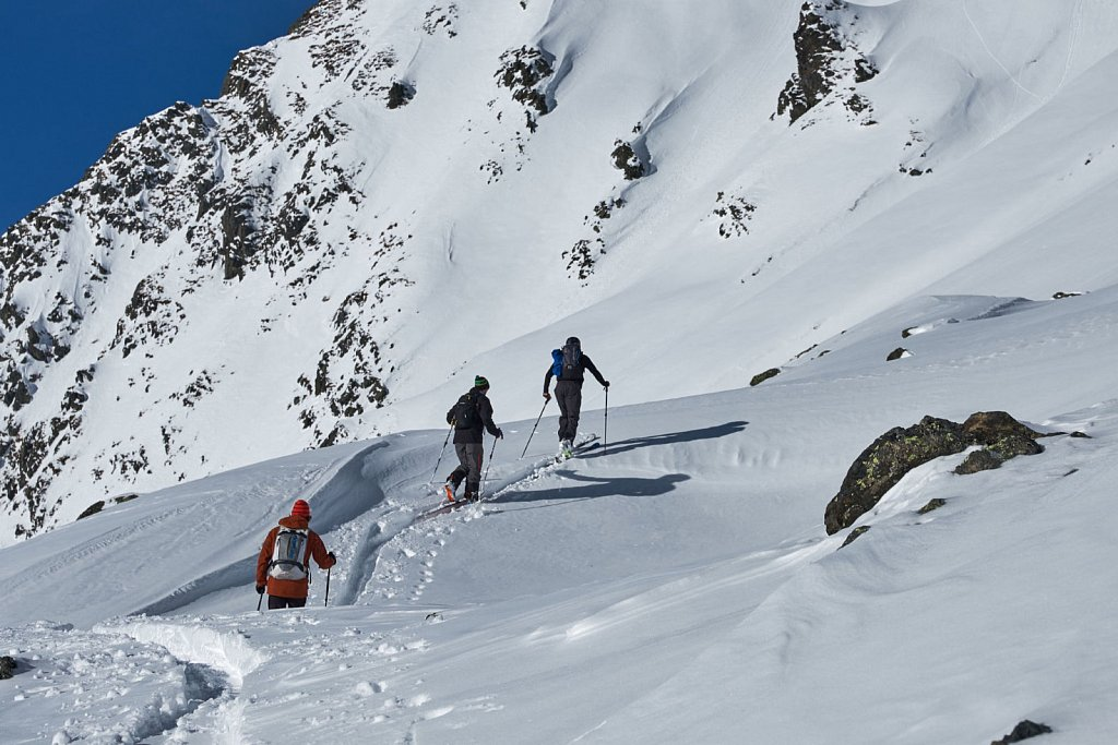 Skitour Kühtai, Anton Brey