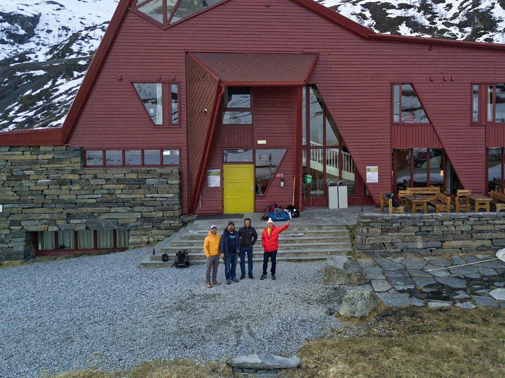 Turtagrø_Skitour, Anton Brey